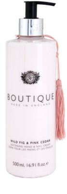 Grace Cole Boutique Wild Fig & Pink Cedar zjemňujúci krém na ruky a nechty