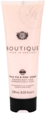 Grace Cole Boutique Wild Fig & Pink Cedar rozjaśniający peeling do ciała
