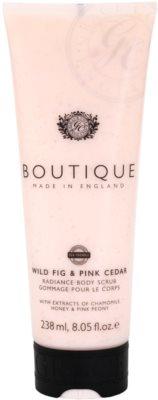 Grace Cole Boutique Wild Fig & Pink Cedar озаряващ пилинг за тяло