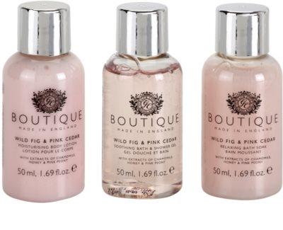 Grace Cole Boutique Wild Fig & Pink Cedar zestaw kosmetyków III. 1