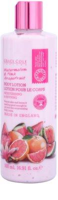 Grace Cole Fruit Works Watermelon & Pink Grapefruit hydratačné telové mlieko bez parabénov