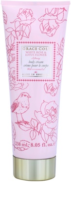 Grace Cole Floral Collection White Rose & Lotus Flower creme corporal