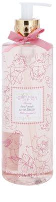 Grace Cole Floral Collection White Rose & Lotus Flower sabonete líquido para mãos
