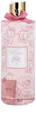 Grace Cole Floral Collection White Rose & Lotus Flower gel za prhanje