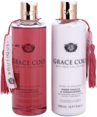 Grace Cole Boutique Warm Vanilla & Sandalwood Kosmetik-Set  I. 1