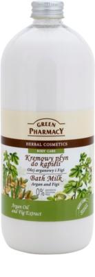 Green Pharmacy Body Care Argan Oil & Figs leite de banho