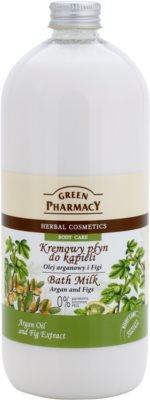 Green Pharmacy Body Care Argan Oil & Figs mleczko do kąpieli