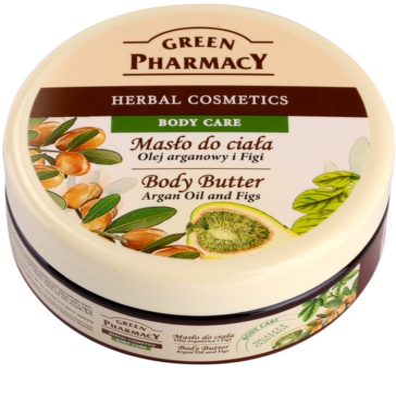 Green Pharmacy Body Care Argan Oil & Figs manteca corporal