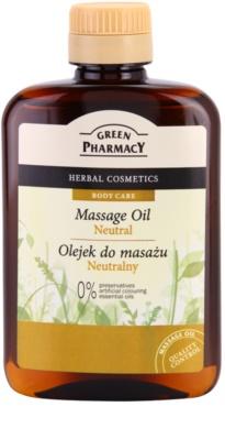 Green Pharmacy Body Care masážní olej