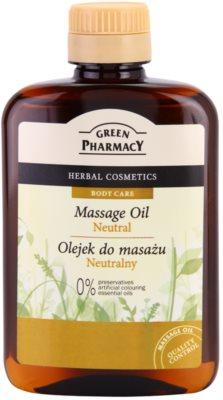 Green Pharmacy Body Care masažno olje