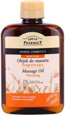 Green Pharmacy Body Care hřejivý masážní olej