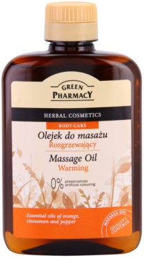 Green Pharmacy Body Care wärmendes Massageöl