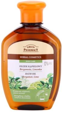 Green Pharmacy Body Care Bergamot & Lime ulei pentru baie