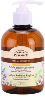 Green Pharmacy Body Care Chamomile & Allantoin gel de higiene íntima para pieles sensibles
