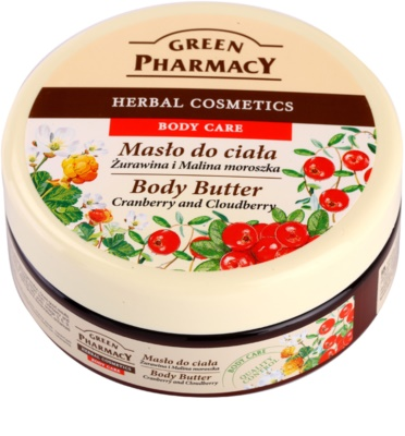 Green Pharmacy Body Care Cranberry & Cloudberry Körperbutter