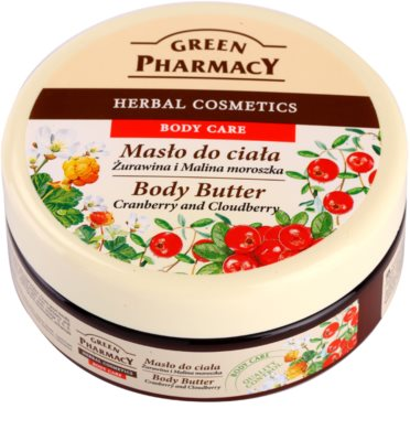 Green Pharmacy Body Care Cranberry & Cloudberry manteca corporal