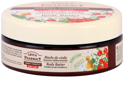 Green Pharmacy Body Care Cranberry & Cloudberry maslo za telo 1