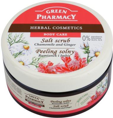 Green Pharmacy Body Care Chamomile & Ginger Salz-Peeling
