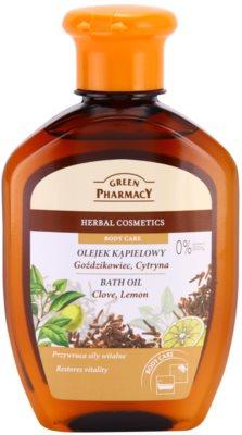 Green Pharmacy Body Care Clove & Lemon aceite de baño