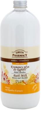 Green Pharmacy Body Care Honey & Rooibos lapte de baie