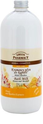 Green Pharmacy Body Care Honey & Rooibos mlieko do kúpeľa
