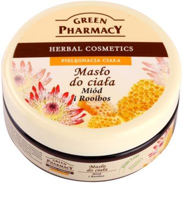Green Pharmacy Body Care Honey & Rooibos manteiga corporal
