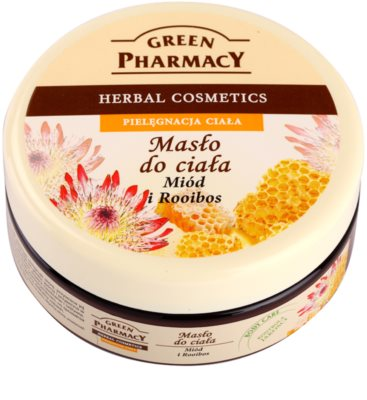Green Pharmacy Body Care Honey & Rooibos testvaj