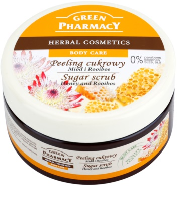 Green Pharmacy Body Care Honey & Rooibos cukros peeling