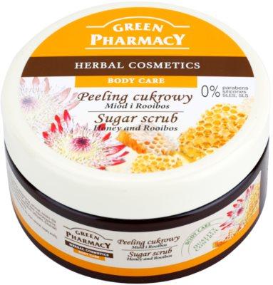 Green Pharmacy Body Care Honey & Rooibos exfoliant din zahar