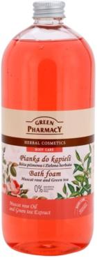 Green Pharmacy Body Care Muscat Rose & Green Tea espuma de banho