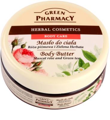 Green Pharmacy Body Care Muscat Rose & Green Tea manteca corporal