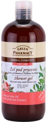 Green Pharmacy Body Care Muscat Rose & Green Tea гель для душу