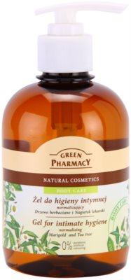 Green Pharmacy Body Care Marigold & Tea Tree gél intim higiéniára