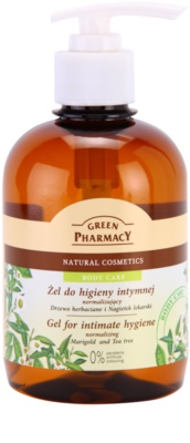 Green Pharmacy Body Care Marigold & Tea Tree gel pentru igiena intima