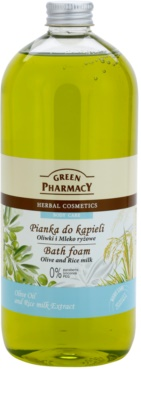 Green Pharmacy Body Care Olive & Rice Milk Badschaum