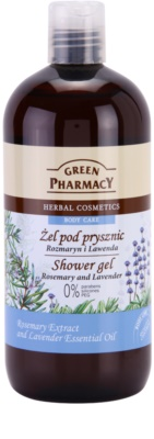 Green Pharmacy Body Care Rosemary & Lavender gel de duche