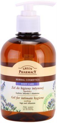 Green Pharmacy Body Care Sage & Allantoin beruhigendes Gel für die intime Hygiene
