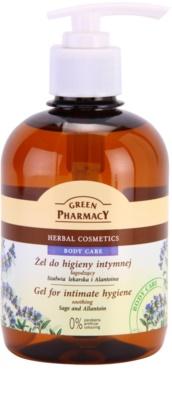 Green Pharmacy Body Care Sage & Allantoin upokojujúci gél na intímnu hygienu