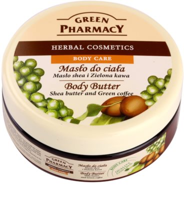 Green Pharmacy Body Care Shea Butter & Green Coffee manteca corporal
