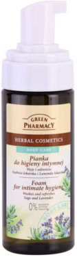 Green Pharmacy Body Care Sage & Lavender espuma para higiene íntima 1