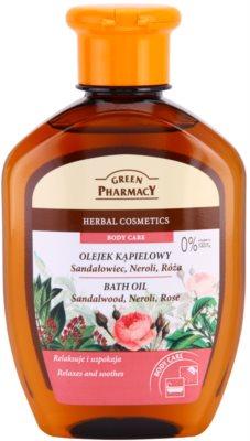 Green Pharmacy Body Care Sandalwood & Neroli & Rose Badeöl