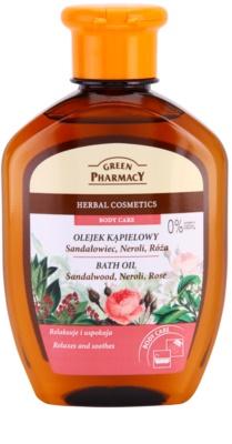 Green Pharmacy Body Care Sandalwood & Neroli & Rose fürdő olaj