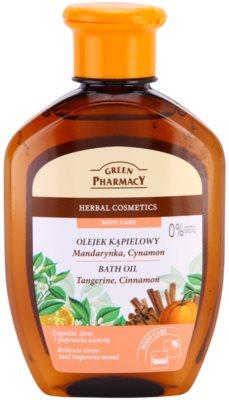 Green Pharmacy Body Care Tangerine & Cinnamon Badeöl
