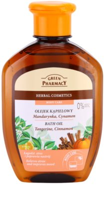 Green Pharmacy Body Care Tangerine & Cinnamon olej do kúpeľa