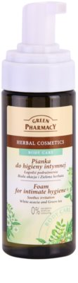 Green Pharmacy Body Care White Acacia & Green Tea pena za intimno higieno 1