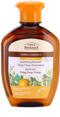 Green Pharmacy Body Care Ylang-Ylang & Orange olje za kopel