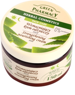 Green Pharmacy Face Care Aloe укрепващ и подхранващ крем