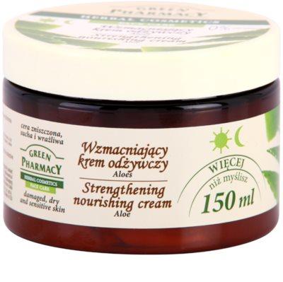 Green Pharmacy Face Care Aloe укрепващ и подхранващ крем 1