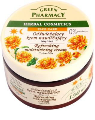 Green Pharmacy Face Care Calendula crema hidratante refrescante para pieles deshidratadas y secas