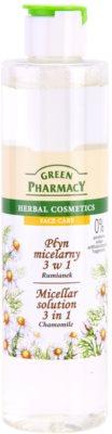 Green Pharmacy Face Care Chamomile micelláris víz 3 az 1-ben